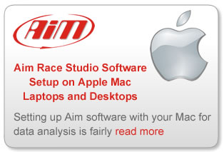 Race Studio Apple Setup