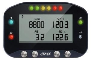 Aim G-Dash Motorcycle Digital Display