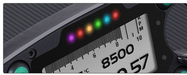 Alarms are managed in a very flexible way: you can choose the event that generates the alarm, the LED behavior