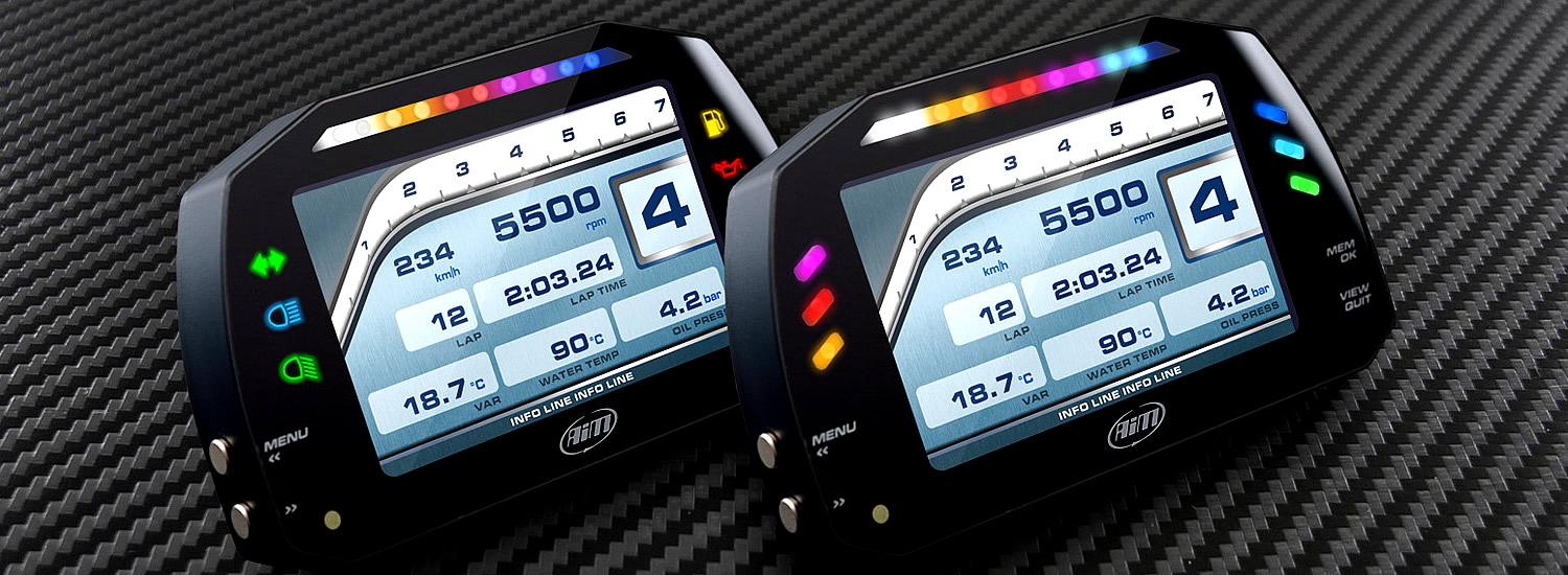 MXS Strada Motorcycle Dash Display
