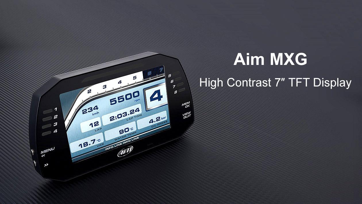 MXG High Contrast TFT Display