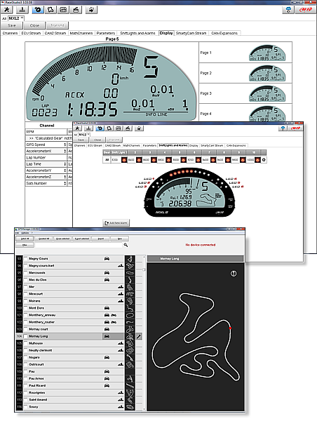 Aim MXG Race Studio 3