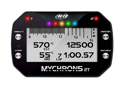 The MyChron 5 2T Powerboat Racing Data logger