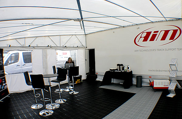 Aim Trackside Support Tent