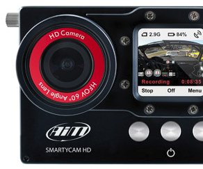 SmartyCam HD has been designed for motorsports