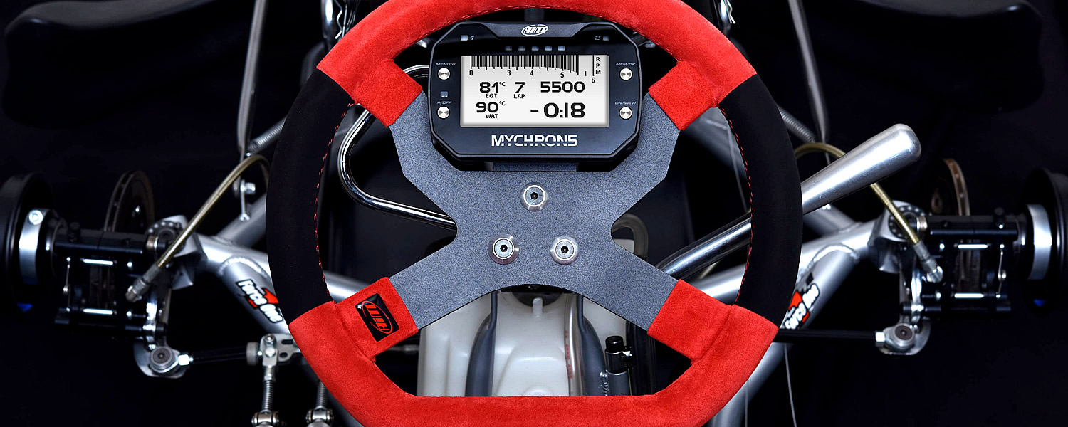 MyChron 5 Kart Racing Steering Wheel