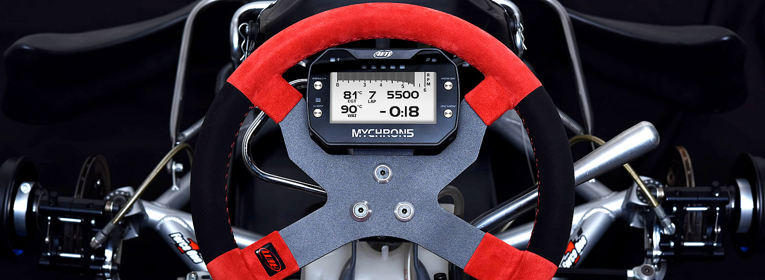 Aim Mychron 5 Kart Racing Loggers and Lap Timers
