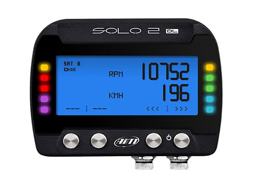 SoloDL features all the functions of Solo, plus the ability to connect to your car's ECU: this makes of SoloDL a powerful dash logger recording all the important data coming from the vehicle Engine Control Unit