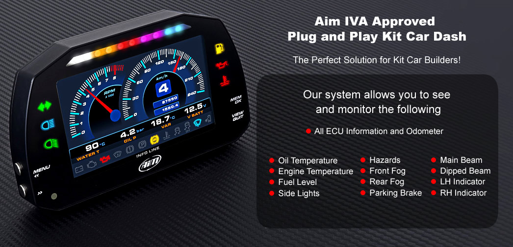 Aim Iva Approved Kit Car Dash And Wiring Solution Aim
