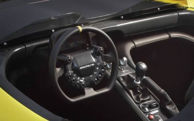 Dallara Stradale Get New Aim Dashboard and Steering Wheel Controls