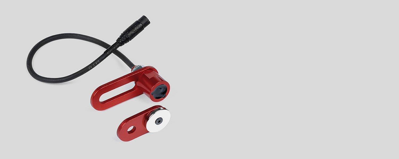 Accelerator/brake pedal position sensor