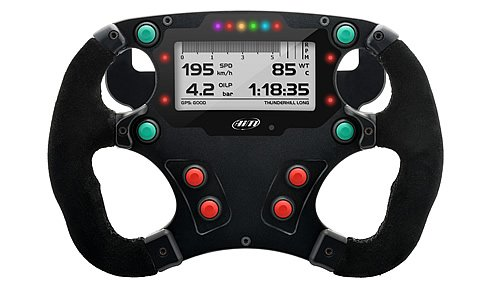 Powerboat Steering Wheel Display