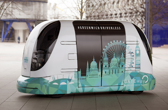 UK Sells Driverless Pods to South Korea in £30 million project