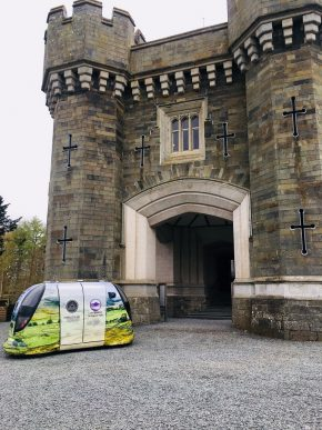 Lakes test for driverless technology