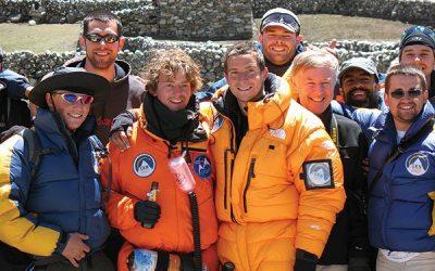 Mission Everest British explorer set a new altitude record Aixro engine