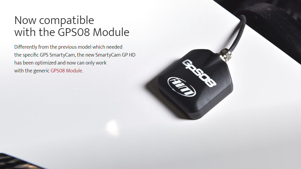 Now compatible with the GPS08 Module