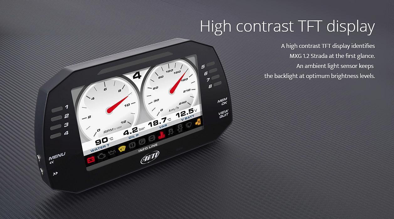 High Contrast TFT Display