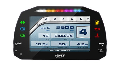 MXS 1.2 Strada Motorcycle Dash Display
