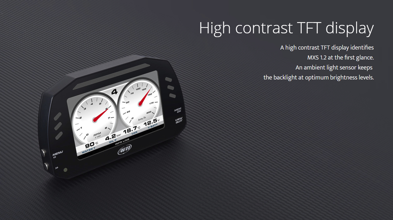 High Contrast TFT Display
