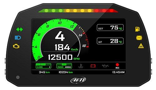 AIM MXK10 GEN4 Kawasaki Dash Logger